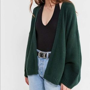 Urban Outfitters Kam Textured-Knit Cardigan